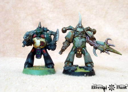 Plague Marine comparison